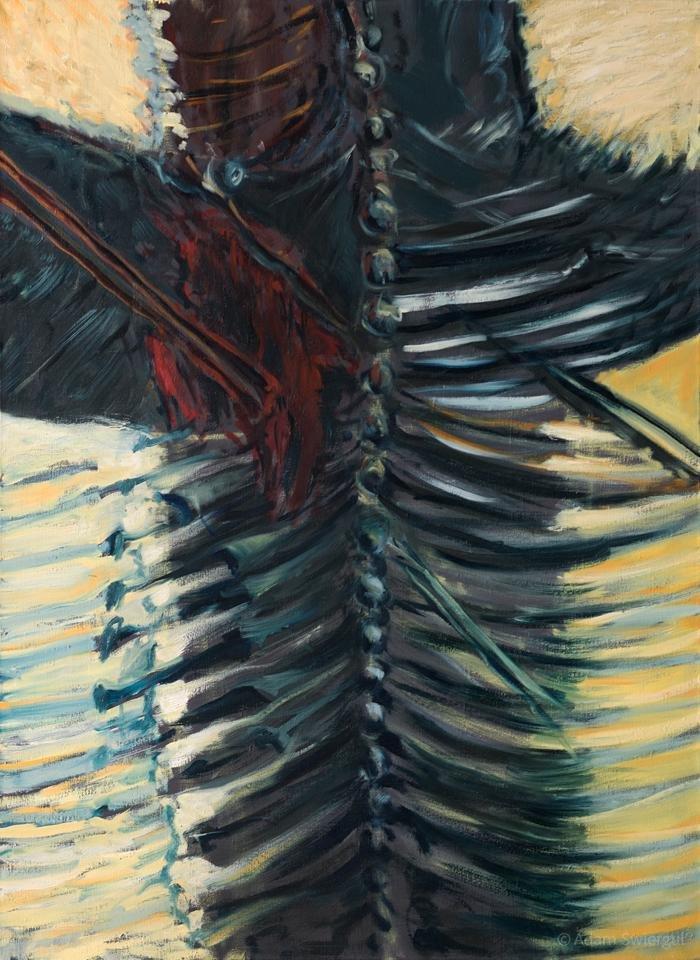 Autoemocjon - obraz olejny 80x100 cm