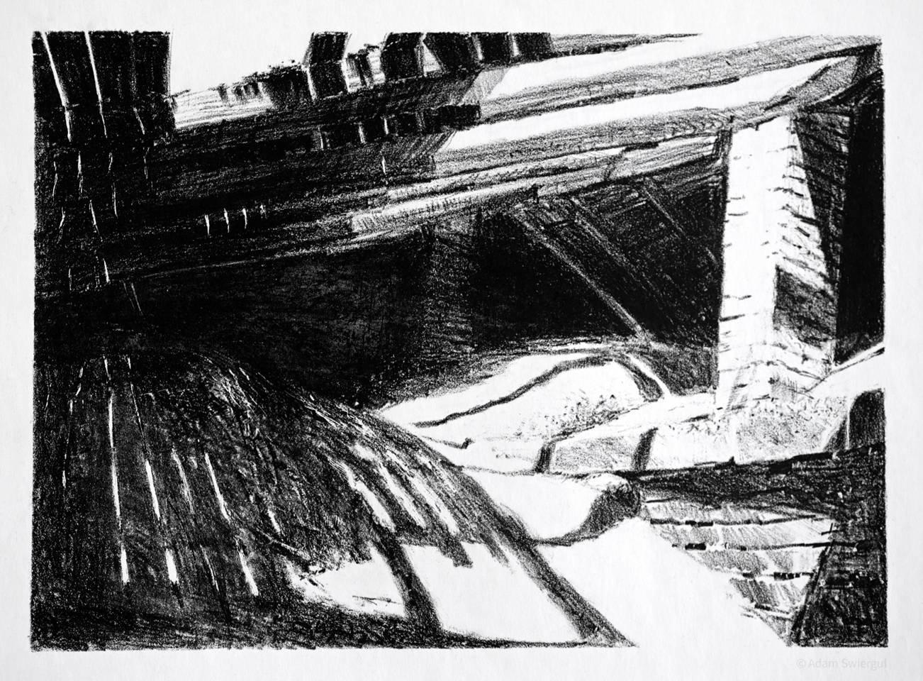 Fort Benedykt, strych