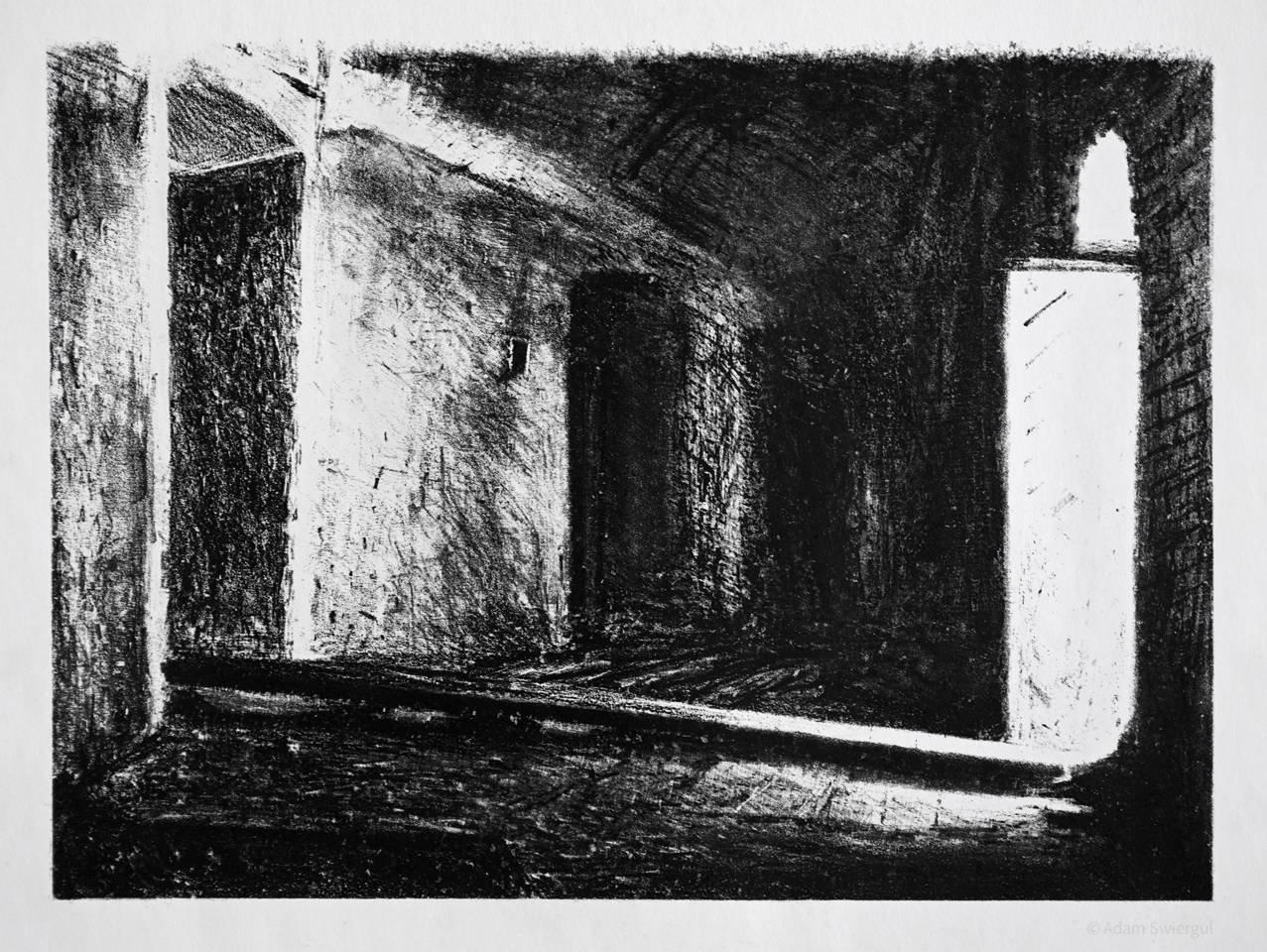 Fort Benedykt, wnętrze