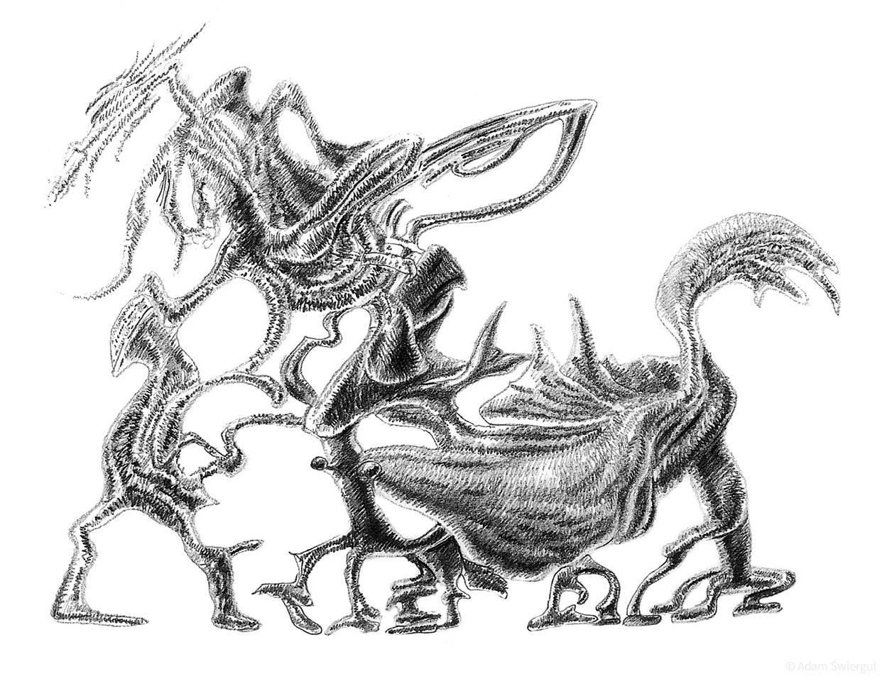 Spacer potworów