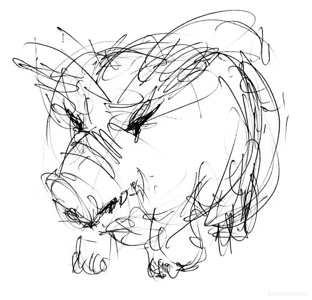 Zła świnia