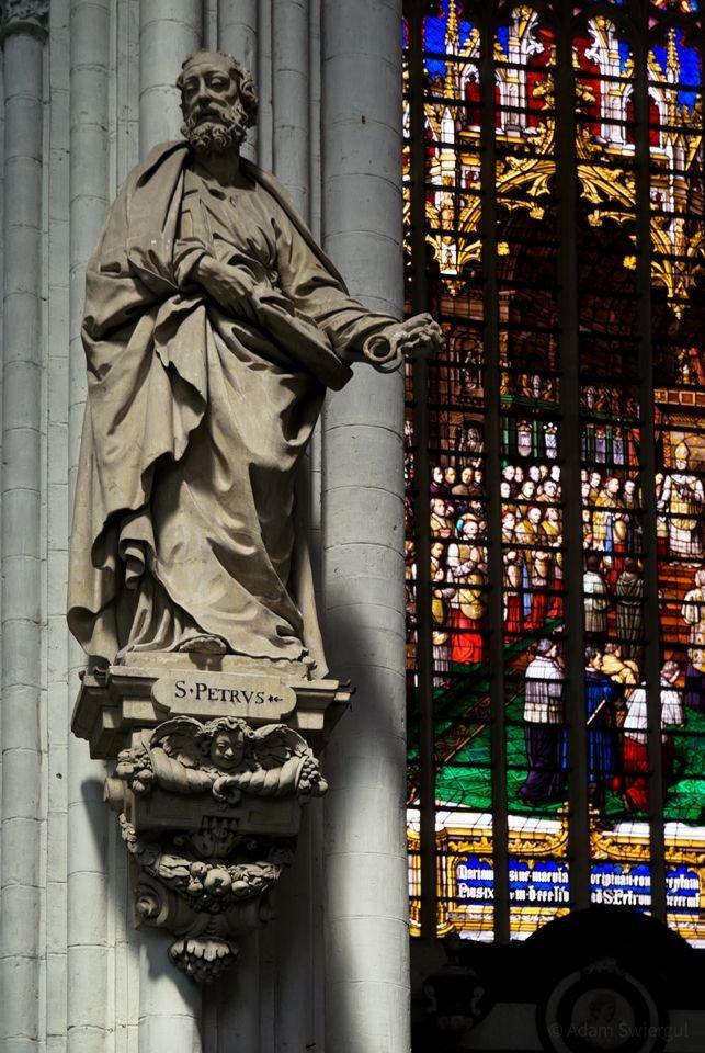 św. Rumolda, Mechelen, detal
