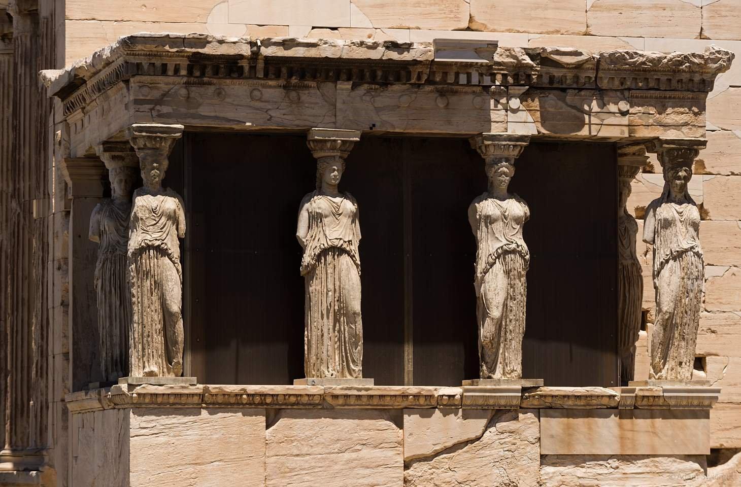 Erechtejon, Grecja