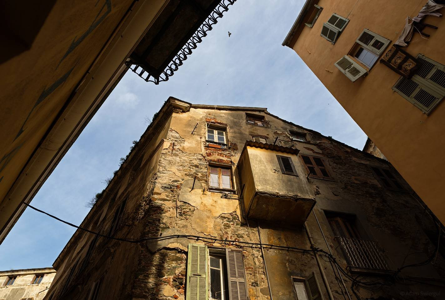 Kamienice do góry - Bastia