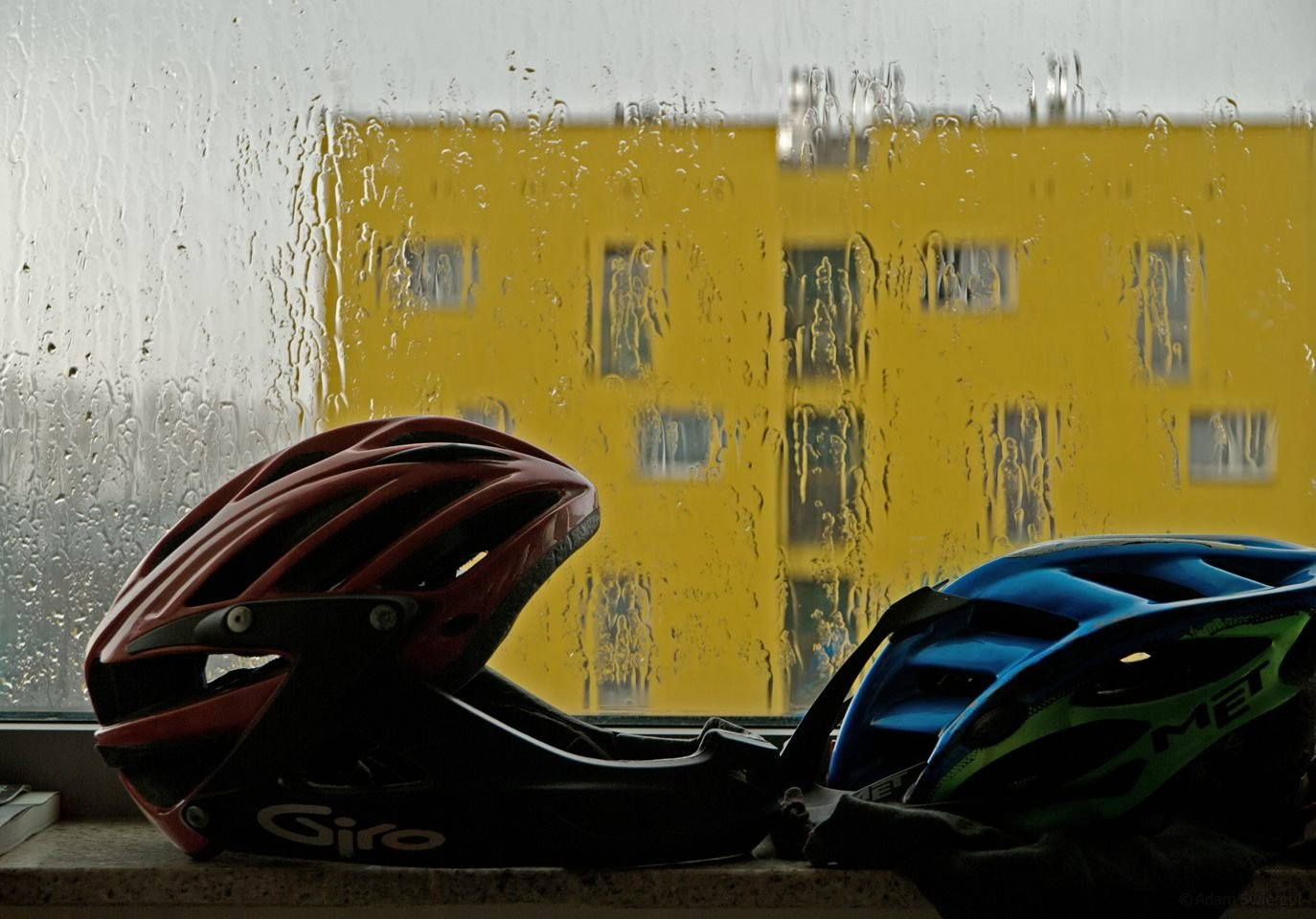 Kaski i deszcz