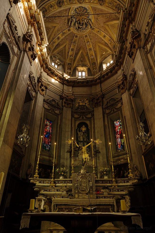 św. Jana Chrzciciela, wnętrze, Bastia