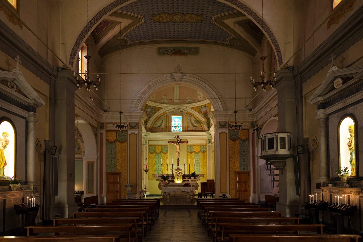 św. Klary z Asyżu, wnętrze, Marciana Marina
