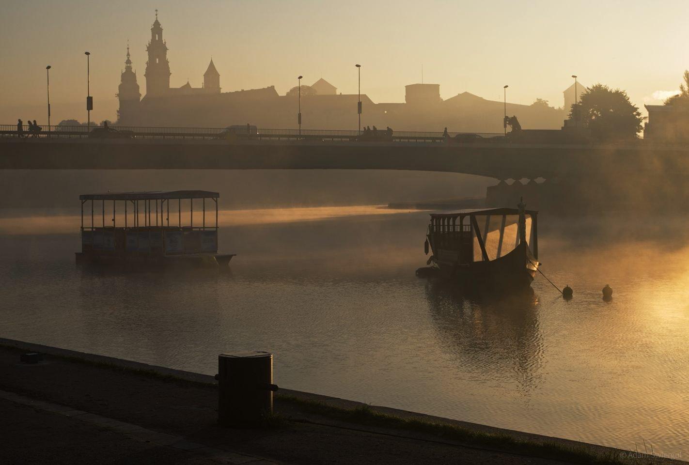Mgła pod Wawelem