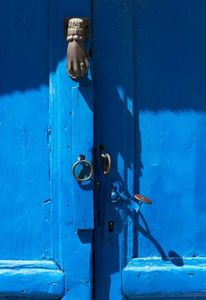 Niebieskie drzwi, Grecja