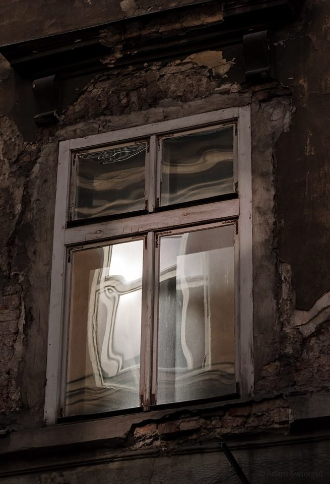 Okno, odbicia