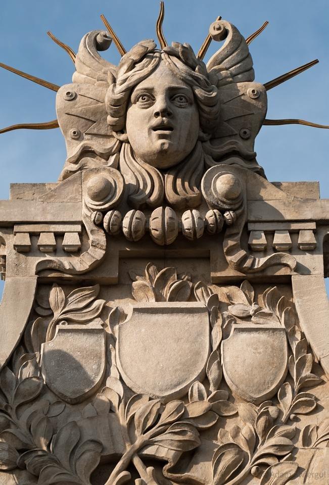Pałac Sztuki, detal