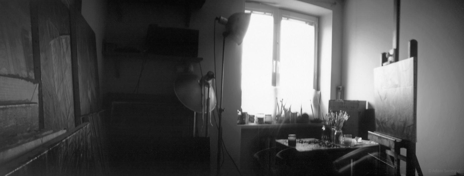 Wnętrze pracowni