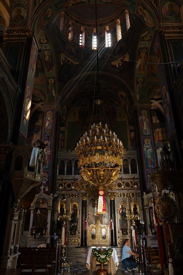 św. Mikołaja, wnętrze, Egina